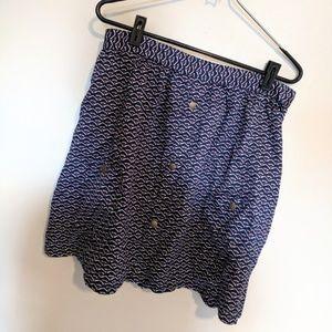 NWT Tulle | Navy Flowy Skater Skirt